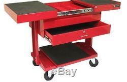 1 Ball Bearing Slide Drawer Wheeled Rolling Adjustable Top Lockable Utility Cart