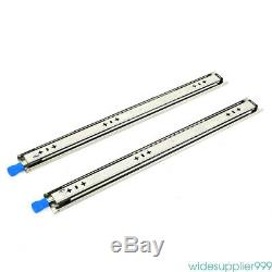 1 Pairs Full Extension 265-LB Heavy Duty Ball Bearing Drawer Slides 20- 40 USA