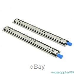 1 Pairs Full Extension 265-LB Heavy Duty Ball Bearing Drawer Slides 20- 40 USA