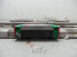 10 Hiwin Hg20 Cnc Linear Rail & 10 Ball Bearing/block/slide 340mm L X 20mm