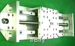 10 travel Linear slide stage bearing ground ballscrew z axis ball screw CNC
