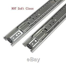 10Pairs Drawer Slides/Glides Soft Close Ball Bearing Heavy Duty121416182022
