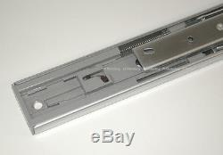 15 Pairs Soft Close Full Extension 100-lb Ball Bearing Drawer Slides 10-24 SL01