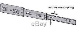 15 Pairs x 550mm Soft Close Drawer Slide Ball bearing Runner Full Extension