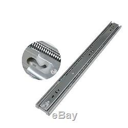 15Pairs 12-22Soft Close Drawer Slides/Glides Side Mount Heavy Duty Ball Bearing