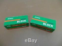 2 Hiwin H20H CNC Linear Rails/ 4 Ball Bearings/Blocks/Slides 8FT Long New