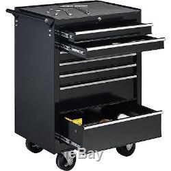 27 7-Drawer Roller Tool Cabinet With Ball Bearing Slides