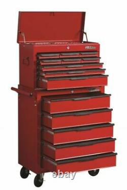 271 Piece Tool Kit Set & Tool Trolley Chest Drawers Steel Mobile Storage Cabinet