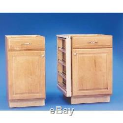 30 In Pull-Out Between Cabinet Base Spice Bottle Organizer Ball-Bearing Slides