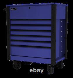 35 Homak 7-Drawer Full Depth Service Cart Brand New