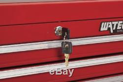 4 DRAWER TOOLBOX Top Add-on Cabinet Chest Ball Bearing Slides Mechanic Storage
