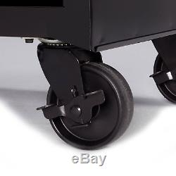 4-Drawer Rolling Tool Box Storage Garage Cabinet With Ball-Bearing Slides 26 in