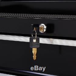 4 Drawer Rolling Tool Cabinet Ball Bearing Slides 26W Chest Mechanic Tool Box