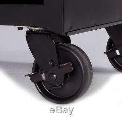 4-Drawer Rolling Tool Cabinet Garage Tools Storage Organizer Ball-Bearing Slides