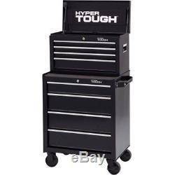 4-Drawer Tool Box Chest Storage Garage Cabinet Organizer Ball-Bearing Slides NEW