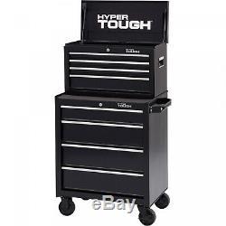 4-Drawer Tool Cabinet Storage Organizer Rolling with Ball-Bearing Slides Garage