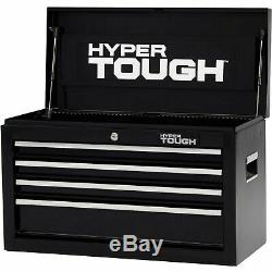 4-Drawer Tool Chest Ball-Bearing Slides Cabinet Storage 26W Mechanic Toolbox