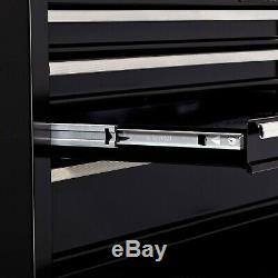4-Drawer Tool Chest Ball Bearing Slides Gas Struts Keyed Locking System 26 Wide
