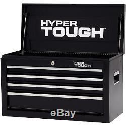 4 Drawer Tool Chest Box Ball Bearing Slides Mechanic Toolbox Organizer 26 Metal