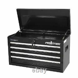 4 Drawer Tool Chest Organizer Storage Tool Box Cabinet Portable With Lock