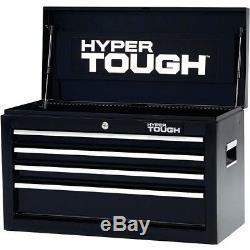 4-Drawer Tool Chest Top Box Toolbox Storage Organizer Ball-Bearing Slides 26W