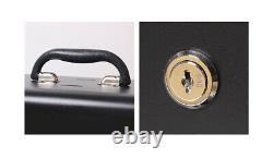4 Level Multi-functional Tool Box Portable Household Storage Box Black