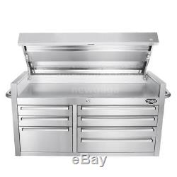 41-in Tool Chest with Ball Bearing Slide Drawers Garage Tool Chest Toolbox K0N0