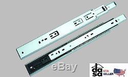 45mm Ball Bearing Full Extension Soft Close Drawer Slide 12-24 10 Pairs