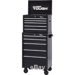 5-Drawer Tool Box Chest Storage Garage Cabinet Organizer Ball-Bearing Slides NEW
