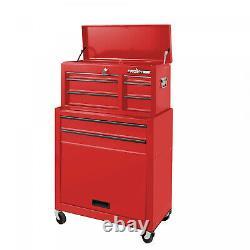 5 Drawer Tool Chest Box Cabinet Storage Combo 24-Inch Garage Mechanic Machinist