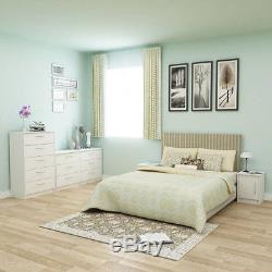 6-Drawer Dresser off white Ball Bearing Slides Bedroom Storage children double