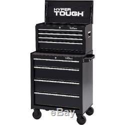 Auto Garage Tool Chest Storage Box 4-Drawer Lock with Ball-Bearing Slides 26W