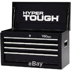 Auto Garage Tool Chest Storage Box 4-Drawer Lock with Ball-Bearing Slides NEW