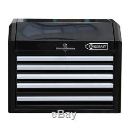 Ball Bearing Drawer Slides Steel Rolling Tool Chest Storage Box Toolbox Cabinet