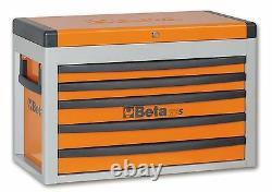 Beta C23S 5 Drawer Portable Tool Chest / Top Box Orange