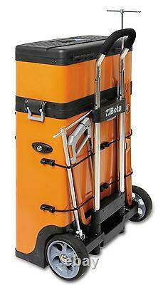 Beta C41H Two Module Mobile Tool Trolley Cabinet Tool Box Case Pit Lane -From UK