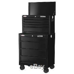 CRAFTSMAN 1000 5-Drawer Lockable Ball-Bearing Steel Tool Box Storage Chest Black