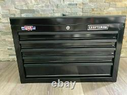 CRAFTSMAN 1000 Series 5-Drawer Steel Tool Chest Black Storage Stackable Strong