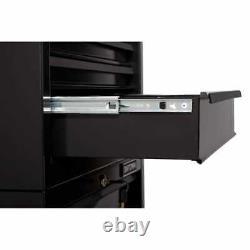 CRAFTSMAN 1000 Series H 5-Drawer Steel Tool Chest (Black)