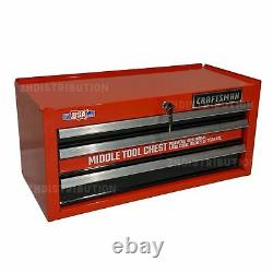 CRAFTSMAN 2000 Series 26-in W x 12.25-in H 3-Drawer Steel Tool Chest (Red)