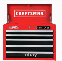 CRAFTSMAN 2000 Series 26-in W x 19.75-in H 5-Drawer Steel Tool Chest (Red)
