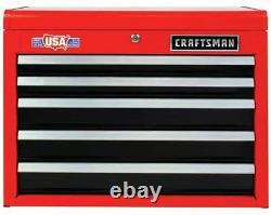 CRAFTSMAN 2000 Series 26-in W x 19.75-in H 5-Drawer Steel Tool Chest (Red) NEW