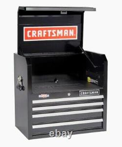 CRAFTSMAN 2000 Series 26-in W x 24.5-in H 4-Drawer Steel Tool Chest (Black)