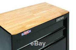 CRAFTSMAN 26 x 14 2 Drawer Steel Mobile Rolling Tool Cabinet Chest Workstation