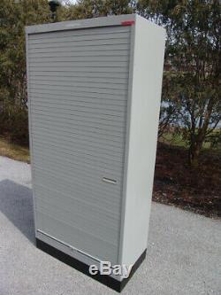 Commercial Grade Steel Metal Shelves Cabinet Filing Cabinet with roll over door