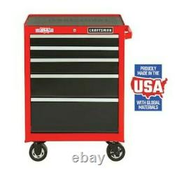 Craftsman 2000 Series 26.5-in W x 37.5-in H 5-Drawer Steel Rolling Tool Cabinet
