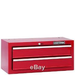 Craftsman 26 2-Drawer Steel Standard Duty Middle Chest. FREE FEDEX SHIPPING