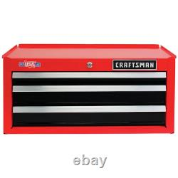 Craftsman 26 in 3-Drawer Steel Heavy-Duty Middle Tool Chest Box Storage Cabinet