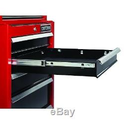 Craftsman 26 in 6-Drawer Heavy-Duty Ball Bearing Top Chest Tool Box Storage Cab