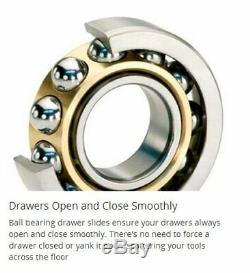 Craftsman 4-Drawer Tool Chest Ball Bearing Slides Keyed Locking System 26 Wide